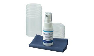 Microscope lens cleaner