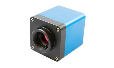 Digital color camera for microscope