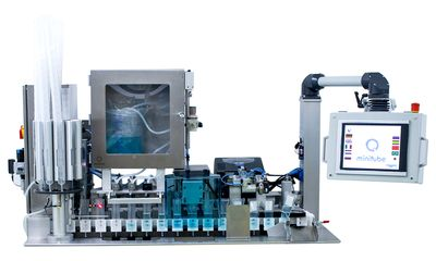 MiniBSP, fully automated boar semen packaging mach
