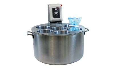 Water bath stainless steel with cover