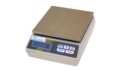 Electronic precision scale up to 6 kg, resolution