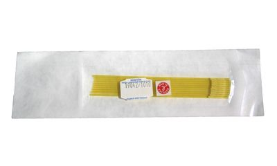 MiniStraw 0.25 ml, 133 mm, yellow-transparent