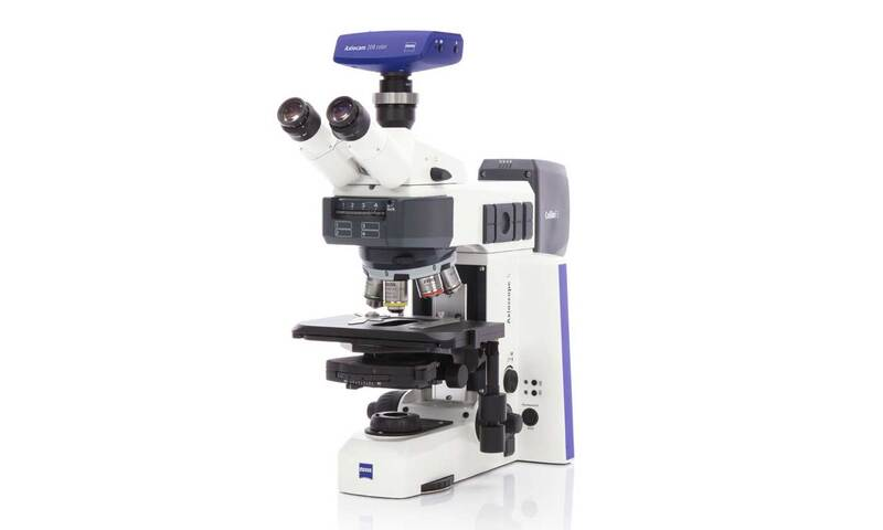 Phase contrast microscope Zeiss AxioScope
