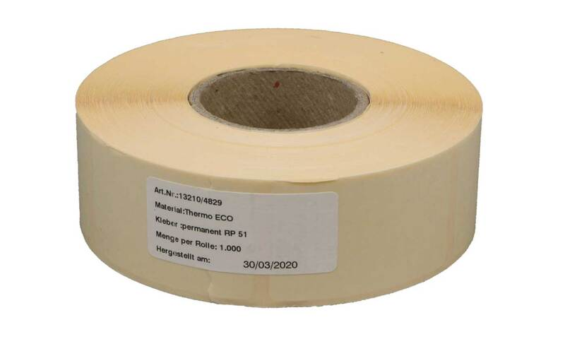 Adhesive label 30 x 50 mm