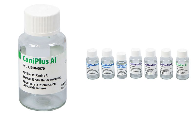 CaniPlus AI medium for thawing canine semen and AI
